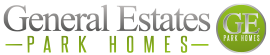 General Estates – Enjoy Park Home Living with a name you can trust! Logo